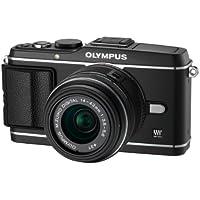 Olympus PEN E-P3 Systemkamera (12 Megapixel, 7,6 cm (3 Zoll) Display, Bildstabilisator, Full-HD Video) Kit schwarz inkl. 14-42mm Objektiv schwarz