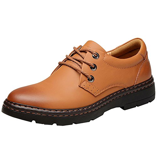 imayson-mens-lace-up-business-suede-oxfords-low-top-leather-shoes-uk-6-color-brown