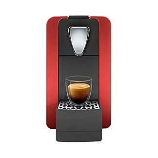 Cremesso-Compact-One-II-Glossy-Red-Kaffeekapselmaschine-fr-das-Schweizer-Cremesso-System