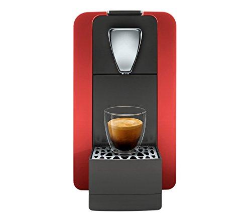 Cremesso Compact One II Glossy Red - Kaffeekapselmaschine für das Schweizer Cremesso System