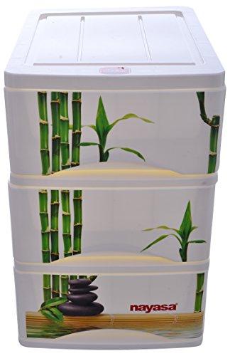Nayasa Tuckins Plastic Container, Green