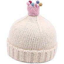 Mzq-yq Cappello di Lana Autunno e Inverno Bambino Maschio e Femmina  Cappello Bambino Coreano c9c41ae5da5d