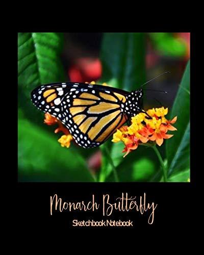 Monarch Butterfly Sketchbook Notebook