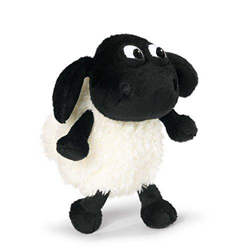 Preisvergleich Produktbild Nici, Schaf, Timmy, 15 cm, schwarz/weiß, Plüschschaf, Shaun das Schaf