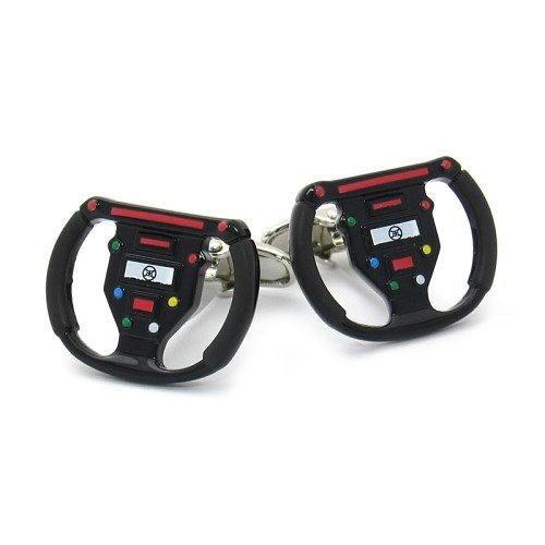 gamepad-cufflinks-wheel-race-car-steering-wheel-box-cleaner