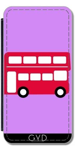 Leder Flip Case Tasche Hülle für Apple iPhone 6/6S - Groß Rot by ilovecotton Lederoptik