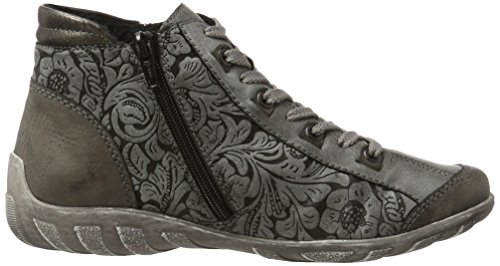 Remonte R3486, Sneakers Hautes Femme Gris (Fumo/asphalt/altsilber / 45)