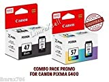 #6: canon ink cartridge pg-47 & cl 57s colour combo