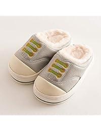 GFLD Pantofole Autunno Inverno Carino Ispessimento Caldo Fondo Spesso  Bambini Cotone Scarpe 563a7da7fd7