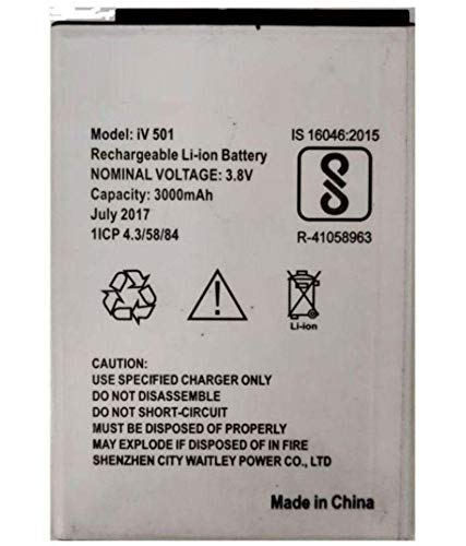 BUCA Compatible for iVooMi 3 iV 501 me Battery Mobile (3000mAh)