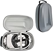 Hard Carrying Case for Oculus Quest 2 Head Elite Strap and Oculus Quest 2 All-in-one VR Headset Storage Bag Mo