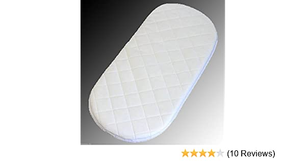 80x30x4cm Microfibre Hypoallergenic Moses Basket Mattress Will Fit Mamas /& Papas and Mothercare Moses Baskets