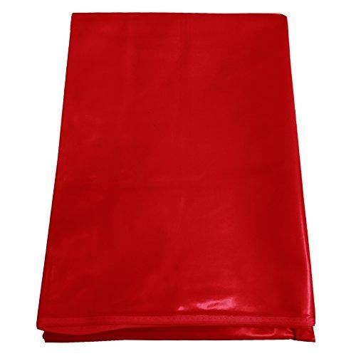 cke Wachstuchtischdecke Fleecerücken 130cm x 210cm Rot Tischdecke Wachstuch Tischdecken Decke Tisch Wachs Wachsdecke Tischdecken Wasserfest ()