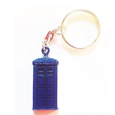 Officiel Doctor Who Tardis en étain porte-clés