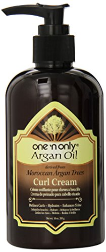 one 'n only Argan Oil Curl Cream Derived from Moroccan Argan Tress, 10 Ounce by one 'n only