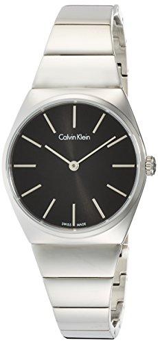 Calvin Klein Reloj Analogico para Mujer de Cuarzo con Correa en Acero Inoxidable K6C2X141