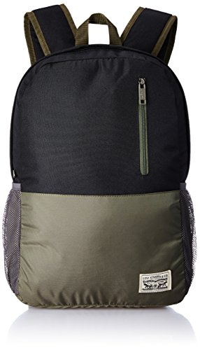 Levis Fabric 32 cms Green Backpack (38004-0086)