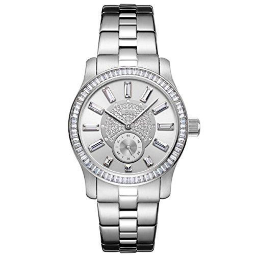 JBW Women's Diamond Watch with Swarovski Elements silver