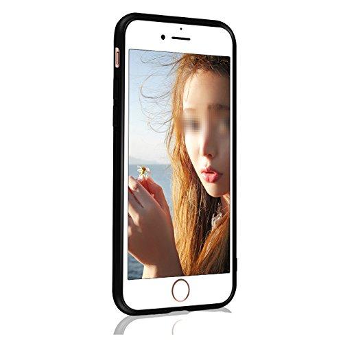 """Case avec Marble Effect Naturel pour iPhone 7 Plus(5.5"""") , Sunroyal Marble Pattern Dual Layer PC Souple Silicone TPU Coque Shell Flexible Soft Caoutchouc Gel coquille Etui Housse Motif Marbre Grain Ba Couleur 06"""