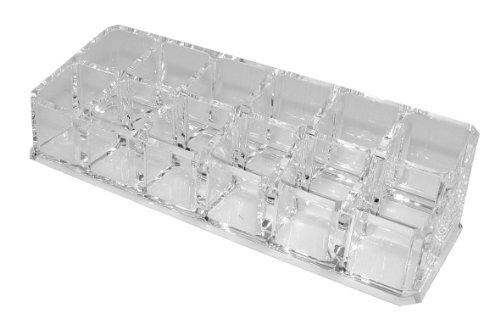 Fantasia Lippenstiftständer, Acryl, leer, Maße: 16 x 7 cm