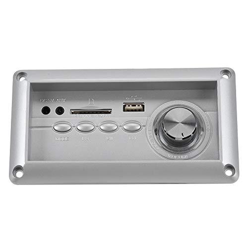 ASHATA Bluetooth MP3 Decoder Board,Wireless Bluetooth verlustfreies MP3 Sofa Lautsprecher Decodierung Board,Digital Audio Decoder Empfänger Musiksender Modul,Unterstützung AUX/FM/USB/SD Decoder-modul