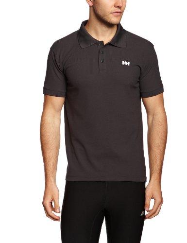 Helly Hansen New Driftline Polo - Polo para hombre, color negro oscuro (ebony), talla L