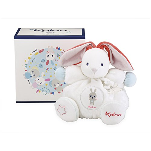 Kaloo K960277 Chubby Rabbit Cream Large Hase Groß weiß, Farblos Preisvergleich