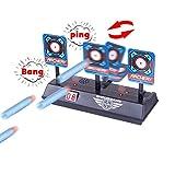 Best Nerf giocattoli per 8 anni ragazzi - iVansa Scoring Auto Reset Demountable Electric Target Review
