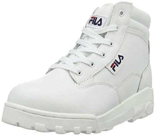 Fila 4010282, Scarpe da ginnastica alte Donna, Bianco (Bright White), 38 EU