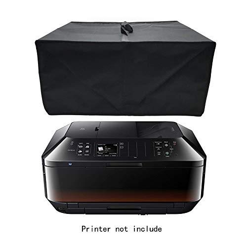 AHGX-Cover Drucker-Staubschutz Schwarz Wasserdicht Oxford-Tuch Schutzhülle, Passend Für HP Envy 5640 Epson XP-860 Canon PIXMA MX925 Kabellos Drucker,Black,50 * 40 * 23Cm