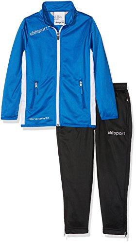 uhlsport Essential Classic Anzug Herren Trainingsanzug, azurblau/Weiß, L