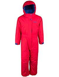 Mountain Warehouse Cloud All In One Kids Snowsuit - Waterproof One Piece, Taped Seams, Fleece Lined Winter Jumpsuit, Adjustable -Ideal For Camping in Cold Weather