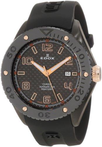 Edox Men's 80078 357RN NIR2 Class-1 Automatic Rotating Bezel Watch