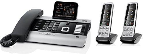 Gigaset DX600A SET mit 2x C430H Mobilteil - ISDN, Anrufbeantworter, Bluetooth® ECO DECT