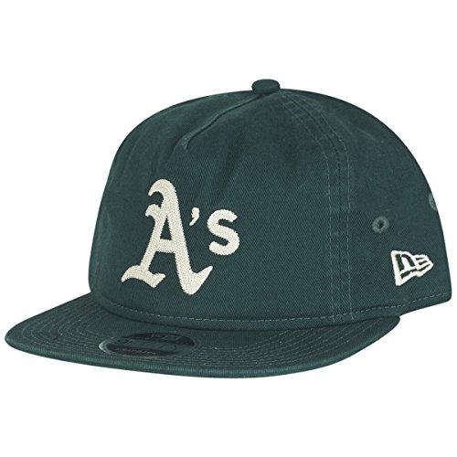 New Era 9FIFTY MLB Chain Stitch Oakland Athletics Kappe, grün, M/L-56,8-61,5 cm Era-stitch