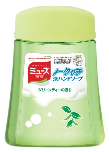 Earth Seiyaku Muse | Hand Soap | No Touch Bubble Hand Soap Green Tea Refill 2...