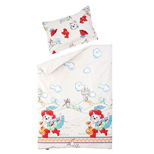 room 100% Baumwolle Kinder Bettwäsche (Bettbezug 120x150 cm & Kissenbezug 40x60 cm) ()