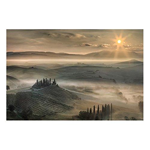 Bilderwelten Tableau magnétique - Tuscany morning - Format paysage 2:3 Plaque magnétique tableau magnétique peinture mural décoration magnétique tableau liège tableau aimanté cuisine bureau, Dimension: 40cm x 60cm