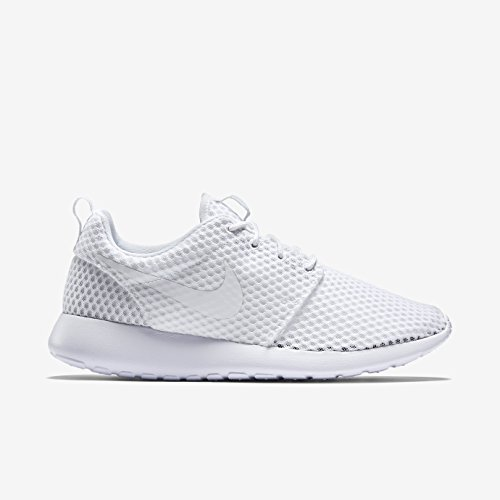 Nike Rosherun Winter, Baskets mode femme White/White-Wolf Grey