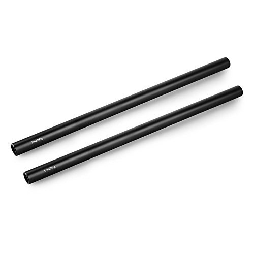 15mm Camera Rods (10-Inch in Length) for 15mm Rail Rod Support System