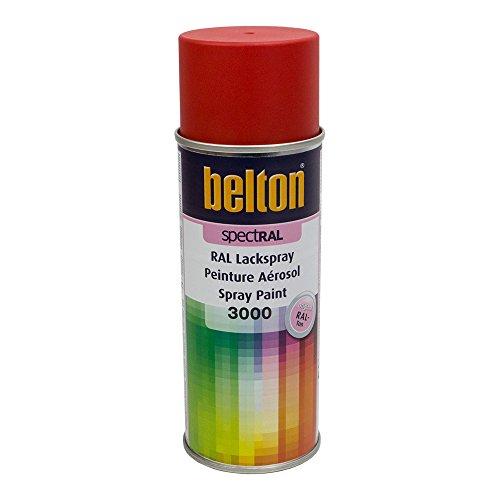 Preisvergleich Produktbild KWASNY 324 401 BELTON SPECTRAL Lackspray RAL 3000 feuerrot matt 400ml