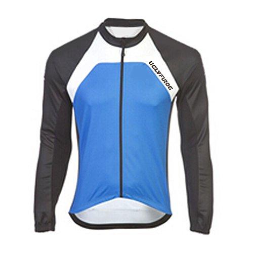 Uglyfrog HDSLJ08 Fahrradtrikot Langarm Pro T - Radtrikot - Jersey - Reißverschluss - Atmungsaktiv - Schnelltrocknend - Reflektoren-Lange Ärmel -