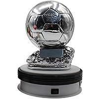 World Cup Fußball Trophäe Golden Globe Award Gewinner Trophäe Replica Galvanik Silber - Fans Fan Schriftzug Version,B