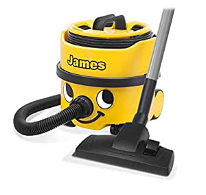 Henry James/JVP 180-11/900084 Dry Vacuum Cleaner, 8 Litre, 620 W, Yellow