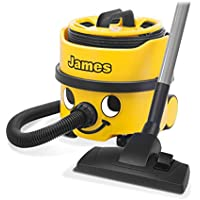 NUMATIC JVP180A1 James Vacuum Cleaner, 620 Watt, Bagged, Yellow/Black