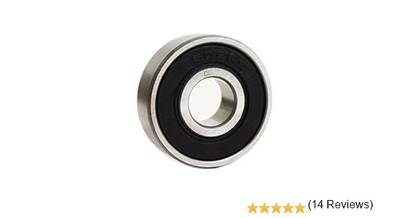 qualit/é industrielle DIN625 boules//roulements /à billes de pr/écision CQ 6001/2RS//6001RS Roulement /à billes 12/x 28/x 8/mm 1//G10 diam/ètre int/érieur : 12/mm