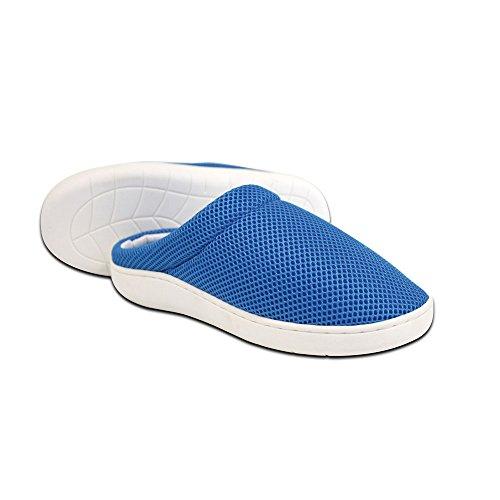 Stepluxe® Slippers by JEWADO - Zapatillas de Estar por casa para Mujer Azul Azul, Color Azul, Talla 39/40 EU
