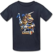 Nanciy Waird® Kinder's Clash Royale Game Art Round Collar T Shirt (XXXX-Large)
