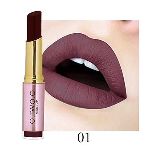 Bluestercool Rouge à Lèvres Mat Imperméable Hydratant Brillant à Lèvres Longue Durée Gloss, 20 Couleurs