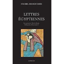 Lettres égyptiennes (ESSAIS SCIENCES)